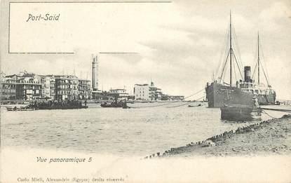 """CPA EGYPTE """"Port Saïd, une vue panoramique"""""""