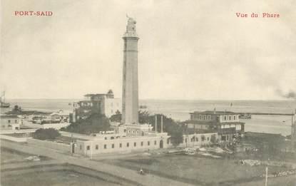 "CPA EGYPTE ""Port Saïd, une vue du phare"""