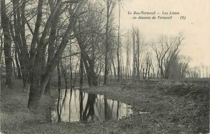 """CPA FRANCE 27 """"Le Bas Verneuim, Les Lônes""""."""