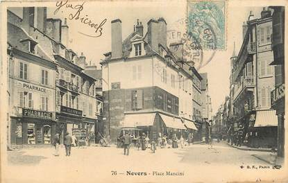 "CPA FRANCE 58 ""Nevers, Place Mancini"""