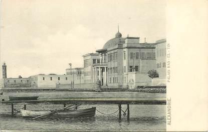 """CPA EGYPTE """"Alexandrie, Palais Ras El Tin"""""""