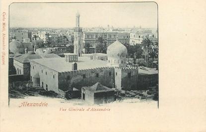 """CPA EGYPTE """"Alexandrie, une vue  générale"""""""