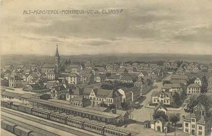"""CPA FRANCE 68 """" Montreux Vieux""""."""