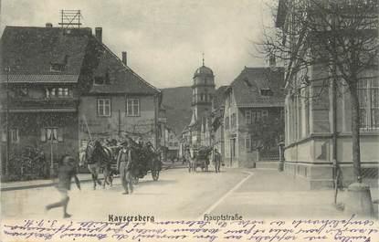"""CPA FRANCE 68 """" Kayseberg""""."""