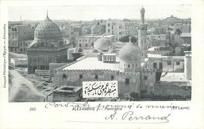"CPA EGYPTE ""Alexandrie, Panorama"""