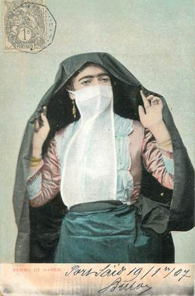 """CPA EGYPTE """" Femme de Harem"""""""