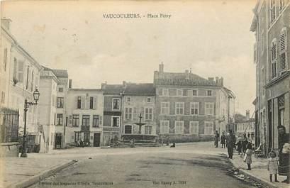 """CPA FRANCE 55 """"Vaucouleurs, Place Pétry"""""""