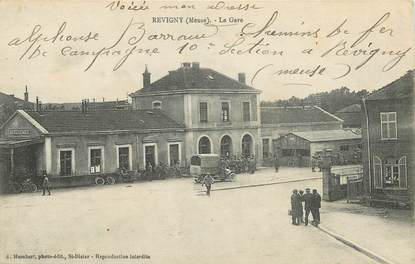 "CPA FRANCE 55 ""Revigny, la Gare"""