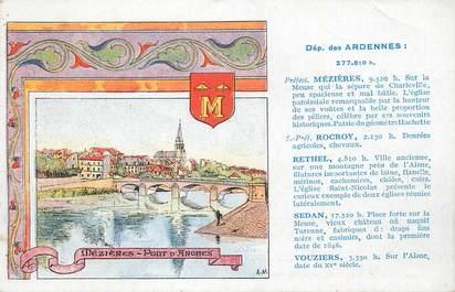 """CPA FRANCE 08 """" Mezières, Le pont d'arches""""."""