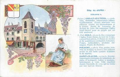 """CPA FRANCE 39 """" Lons le Saunier, Vues""""."""