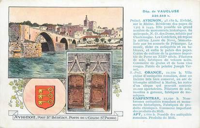 "CPA FRANCE 84 ""Avignon, Vues""."