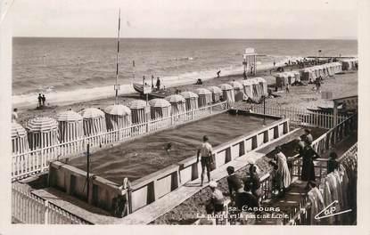 """CPSM FRANCE 14 """" Cabourg, La plage""""."""