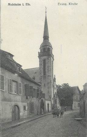 """CPA FRANCE 67 """" Molsheim, L'église""""."""