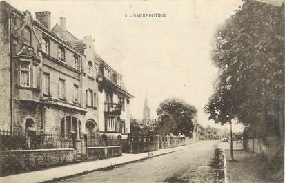 "CPA FRANCE 57 "" Sarrebourg""."