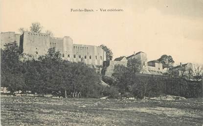 """CPA FRANCE 01 """" Fort les Bancs, Vue extérieure""""."""