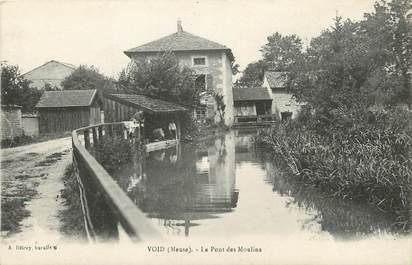 """CPA FRANCE 55 """"Void, Le Pont des Moulins"""""""