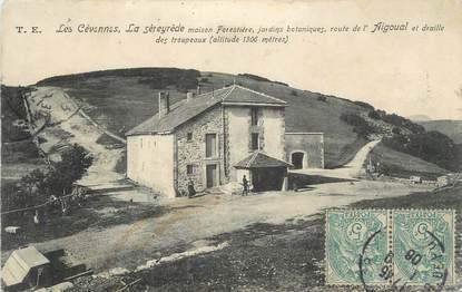 """CPA FRANCE 30 """" La Séreyrède, Maison forestière""""."""