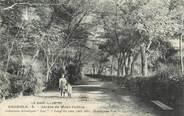 """30 Gard CPA FRANCE 30 """" Bagnols sur Cèze, Le jardin du Mont Cotton""""."""