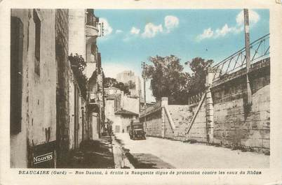 "CPA FRANCE 30 ""Beaucaire, Rue Danton""."