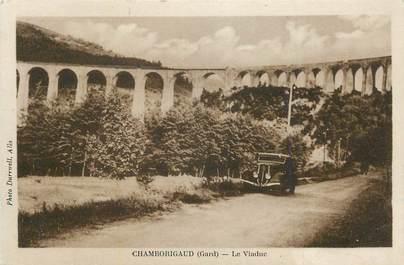 "CPA FRANCE 30 "" Chamborigaud, Le viaduc""."