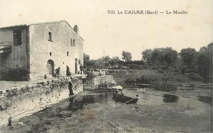 """CPA FRANCE 30 """" Le Cailar, Le moulin""""."""