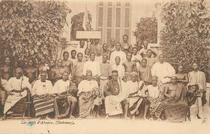 "CPA DAHOMEY ""Les chefs d'Abomey"""