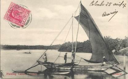 """CPA SRI LANKA """"Colombo, la pêche"""""""