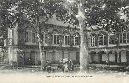 """CPA FRANCE 30 """" Euzet les Bains, Pavillon médical"""";"""