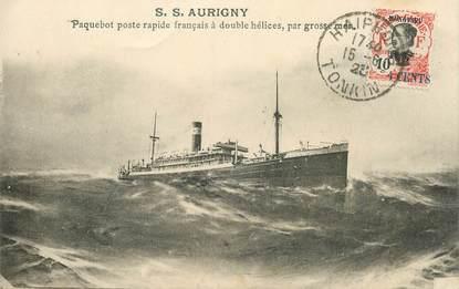 """CPA VIET NAM """"Paquebot S.S. Aurigny Mongtseu"""""""