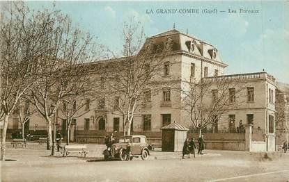"""CPA FRANCE 30 """" La Grand'Combe, Les bureaux""""."""