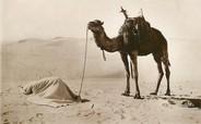 """Algerie CPA ALGERIE """"la Prière au désert"""" / ORIENTALISME / SCÈNES ET TYPES"""