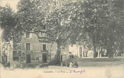 """CPA FRANCE 30 """"Lasalle, La place""""."""