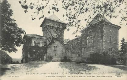 """CPA FRANCE 30 """"Lasalle, Château du Solié""""."""