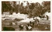 """Algerie CPA ALGERIE """"Passage de l'Oued"""" / ORIENTALISME / SCÈNES ET TYPES"""