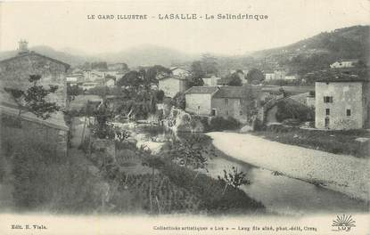 """CPA FRANCE 30 """" Lasalle, Le Salindrinque""""."""