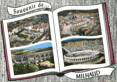 "CPSM FRANCE 30 "" Milhaud, Vues""."