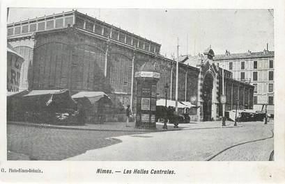 "CPA FRANCE 30 ""Nimes, Les halles centrales""."