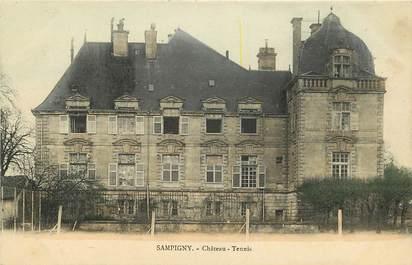 "CPA FRANCE 55 ""Sampigny, Château Tennis"""