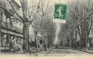 """84 Vaucluse CPA FRANCE 84 """"Avignon, Cours de la République""""."""