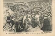 "13 Bouch Du Rhone CPA FRANCE 13 ""Les Saintes Maries de la Mer, La procession de mai et d'octobre""."