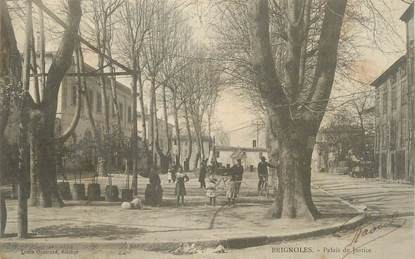 """CPA FRANCE 83 """" Brignoles, Palais de Justice""""."""