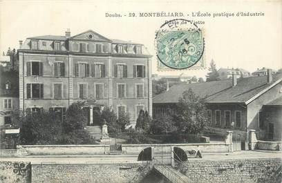 """CPA FRANCE 25 """" Montbéliard, Ecole pratique d'industrie""""."""