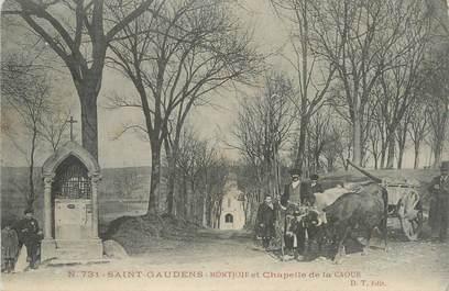 """CPA FRANCE 31 """"St Gaudens, Montjoie et Chapelle de la Caoue""""."""