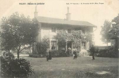 """CPA FRANCE 10 """" Polisy, Maison du jardinier""""."""