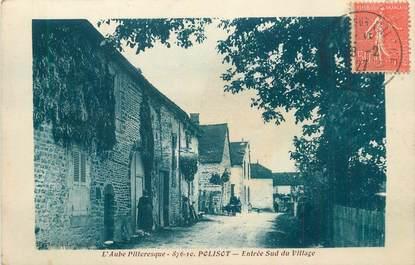 """CPA FRANCE 10 """" Polisot, Entrée sud du village'""""."""