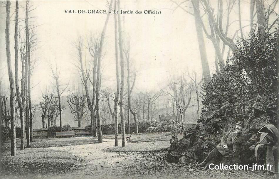 Cpa france 75 paris 5 me val de grace le jardin des for Le jardin 75019