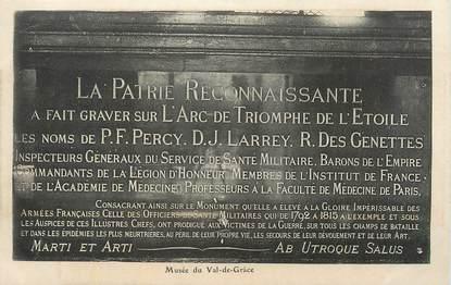 """CPA FRANCE 75 """" Paris 5ème, Val de Grace, Le musée""""."""