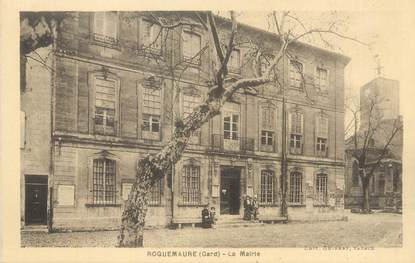 "CPA FRANCE 30 "" Roquemaure, La Mairie""."