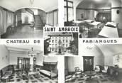 """30 Gard CPSM FRANCE 30 """" St Ambroix, Château de Fabiargues""""."""
