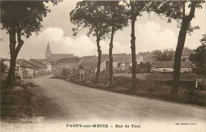 """CPA FRANCE 55 """"Pagny sur Meuse, rue de Toul"""""""